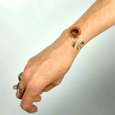 etsy-sunflower-tattoo