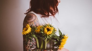 sunflower tattoo meaning